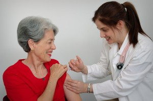senior-woman-receiving-a-vaccination-shot-from-her-doctor